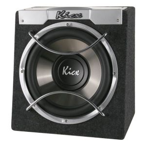 KICX ICQ 300B Passive Subwoofer in the housing