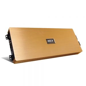 KICX QS 1.3000M GOLD EDITION  1channel subwoofer amplifier