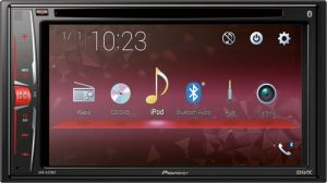 "PIONEER AVH-A210BT 2-DIN 6,2"" CD+DVD+USB +BT"