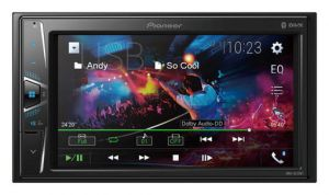 "PIONEER DMH-G220BT 2-DIN 6,2"" BEZ CD/USB+BT+AUX"