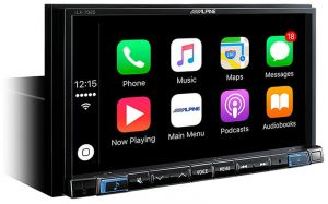 ALPINE iLX702D 7' 2-DIN APPLE Car Play / Android Auto