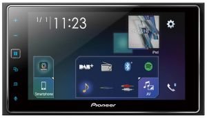 "PIONEER SPH-DA130DAB+ 2-DIN 6.2"" USB+BT (CAR PLAY+ANDROID)"