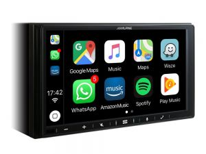 ALPINE iLX-W 650BT 7' 2-DIN APPLE CarPlay/Android Auto