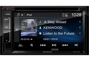 "KENWOOD DDX-318BT 2-DIN 6,2"" CD+DVD+USB+BT"