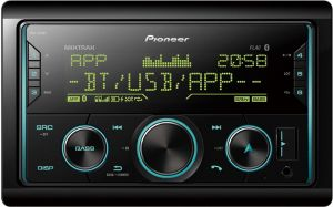 PIONEER MVH-S620BT BEZ CD/USB+BT-SPOTIFY+IPHONE+MULTICOLOR 2 DIN