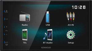 KENWOOD DMX-120BT 2-DIN USB, AUX BLUETOOTH
